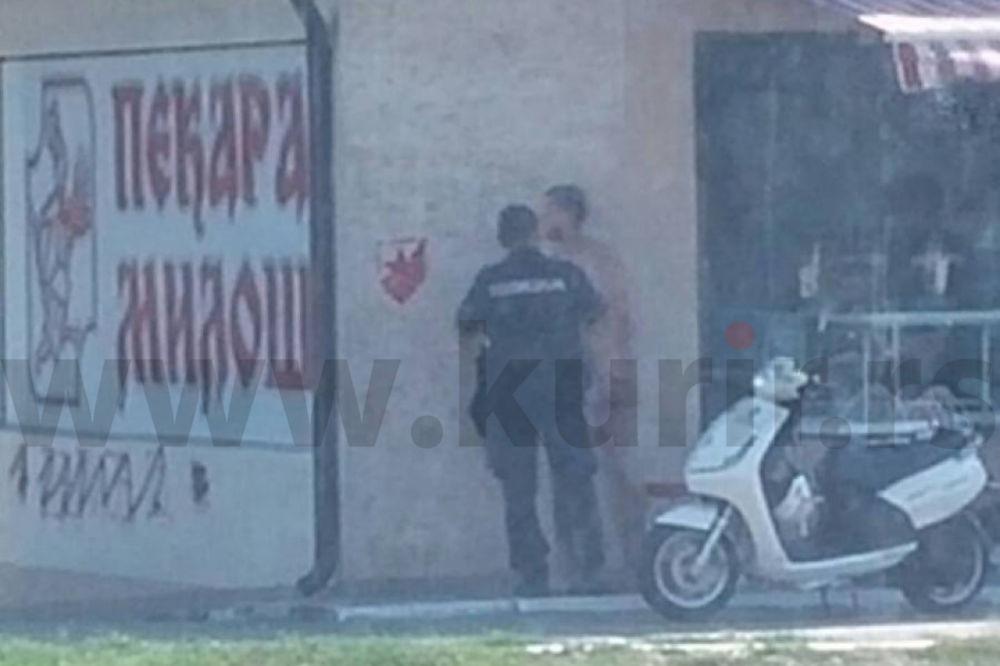 (FOTO 18+) IZGUBIO OPKLADU PA ŠETAO GO BEOGRADOM: Skinuo se, a onda je počela da ga juri policija
