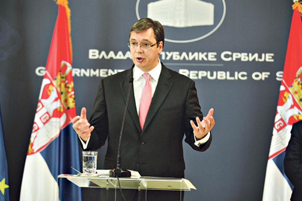 VUČIĆ ODBRUSIO DUŠMANIMA: Gađajte i vređajte, ali Srbiju ostavite na miru!