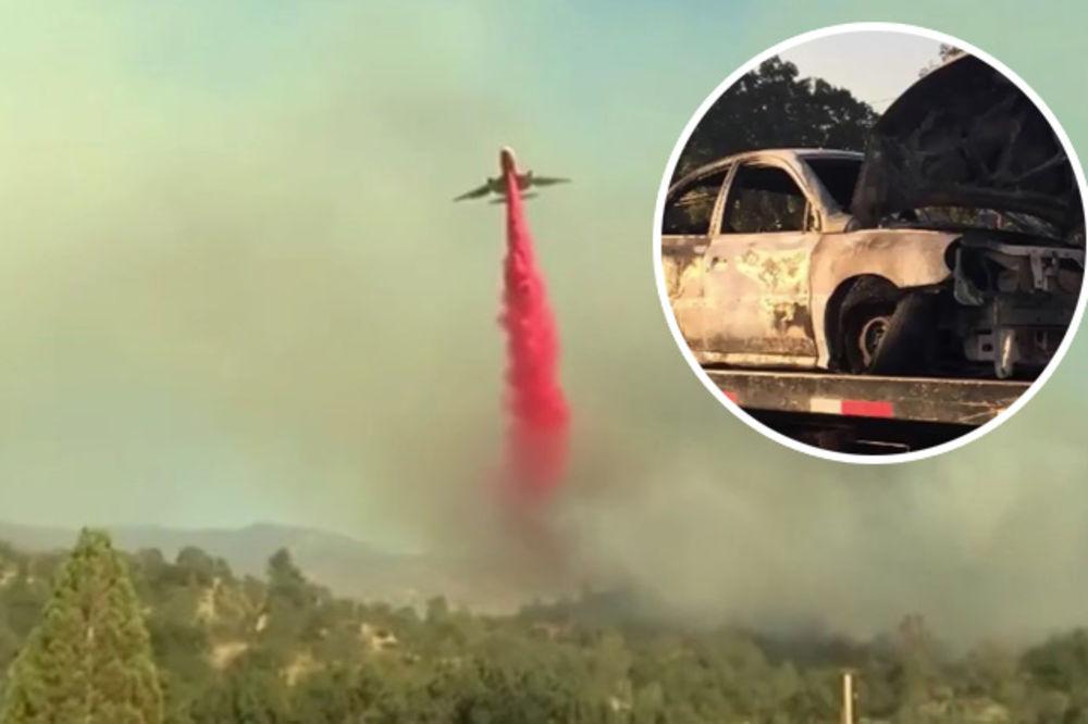 (VIDEO) ZBOG NJE GORI KALIFORNIJA: Drogirana vozila auto na felni i zapalila pola države!
