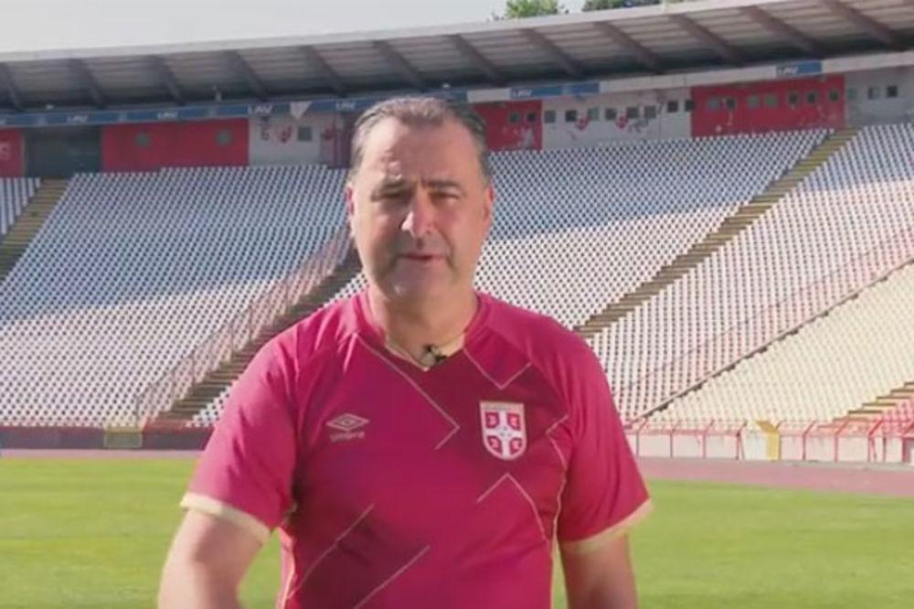 (VIDEO) GROF UZ ORLOVE: Srbiji treba podrška navijača, pruži je, od tebe zavisi!