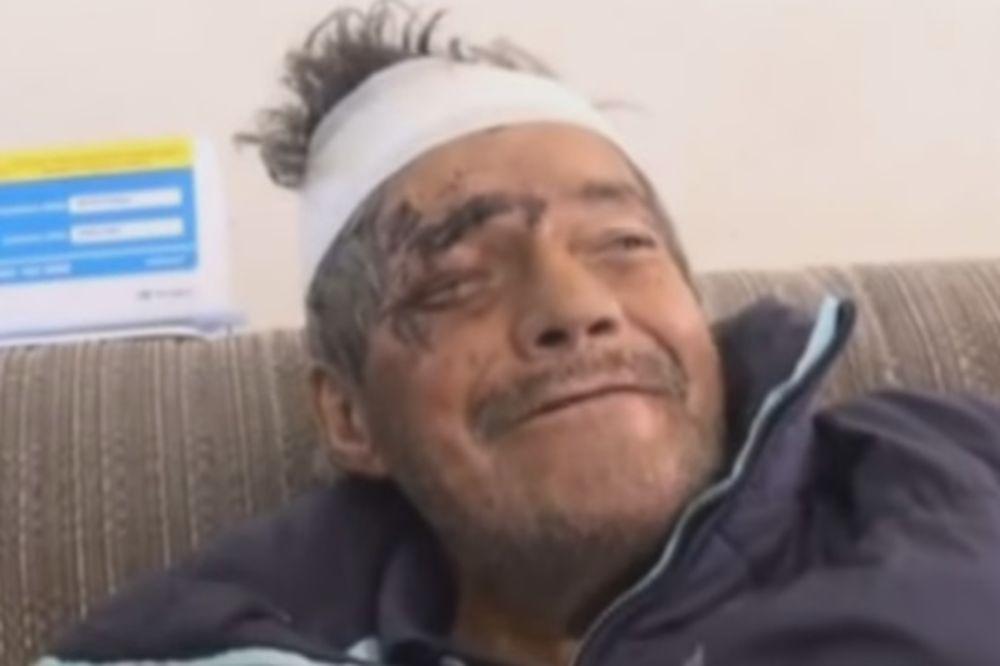 (VIDEO) KREMIRALI SU DEDU: Posle dva meseca on se pojavio na vratima!