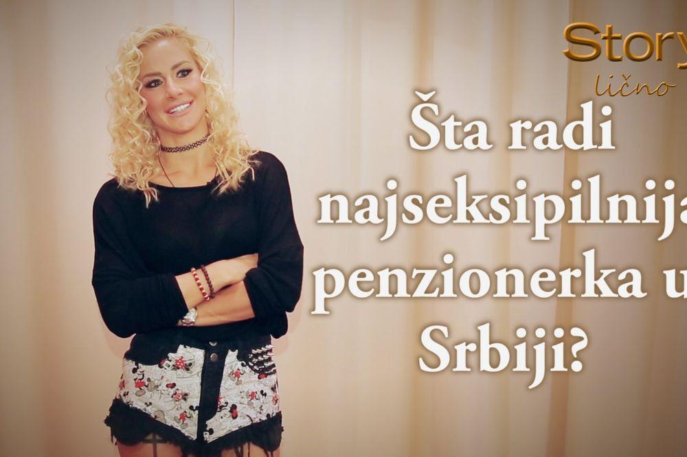 (VIDEO) STORY LIČNO - Milica Dabović: Seksi sam i u košarkaškom dresu