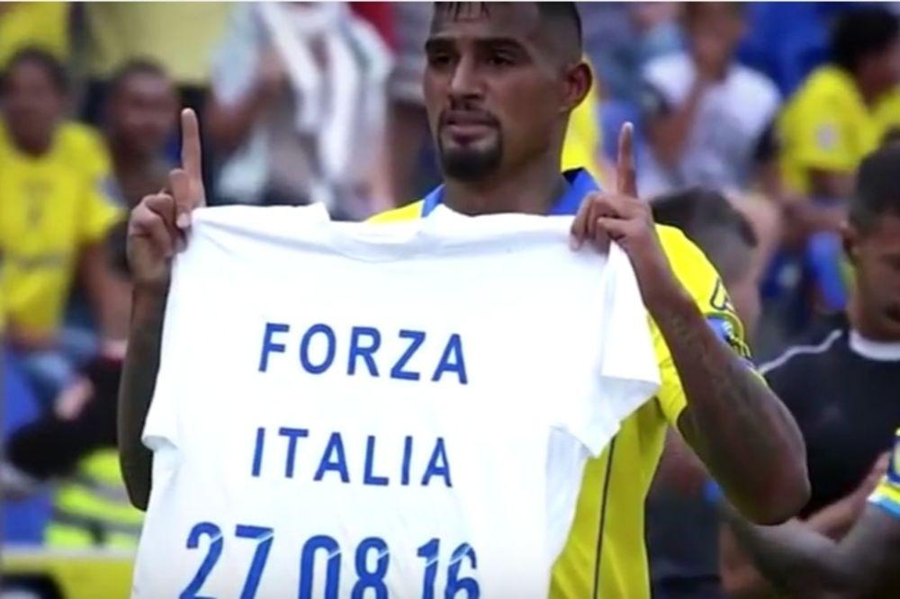 (VIDEO) SRAMNA ODLUKA ŠPANACA: Kaznili fudbalera zbog podrške žrtvama zemljotresa u Italiji