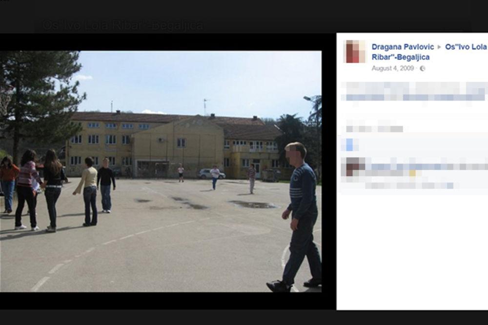 U TUĐIM KLUPAMA DO DALJEG: Učenici izgorele škole u Begaljici moraće i nadalje u Grocku