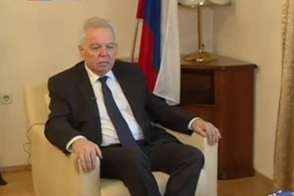 RUSKI AMBASADOR U BIH ODBRUSIO INCKU Ivancov: Njegova izjava o RS svedoči o njegovoj neobjektivnosti