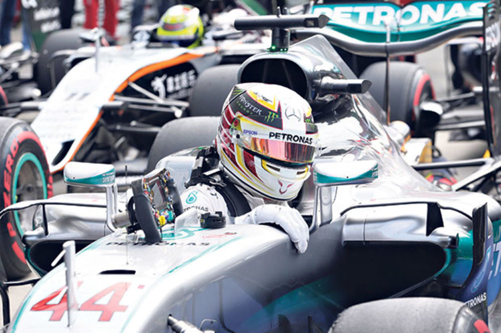 FORMULA 1: Hamilton kreće prvi na VN Italije