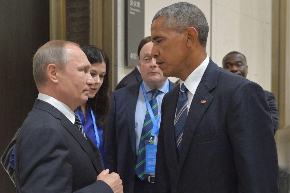 Vladimir Putin i Barak Obama, Foto: AP