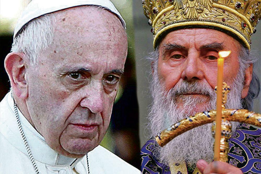 PATRIJARH IRINEJ ZA KURIR: Papa neće kod Tačija