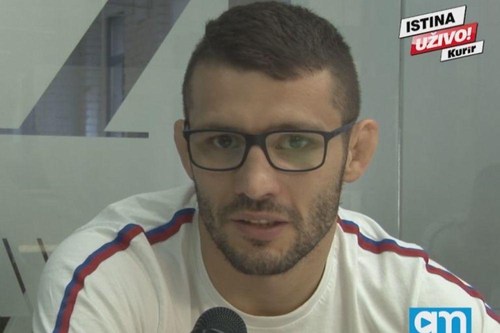 (KURIR TV) DAVOR ŠTEFANEK U POSETI KURIRU: Drago mi je što sportisti misle da sam amajlija za Srbiju