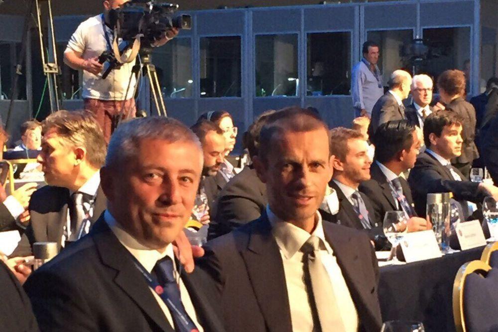 KOKEZA ZA KURIR: Izbor Čeferina za predsednika UEFA je velika stvar za srpski fudbal