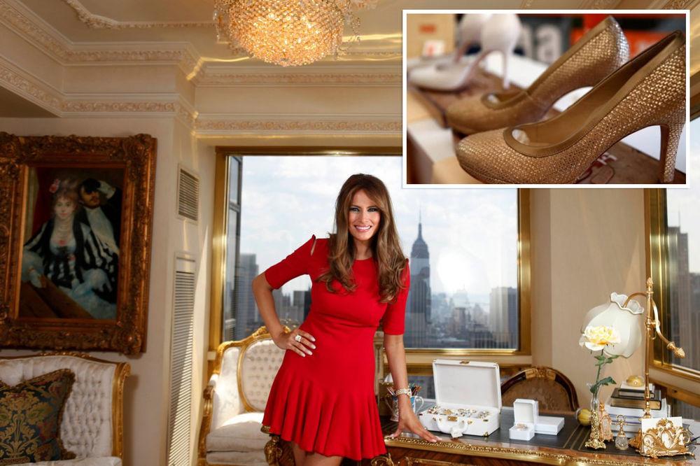 A ŠTA JE SA RAKIJOM: Američka policija zaplenila cipele koje su Banjalučani poslali Melaniji Tramp!