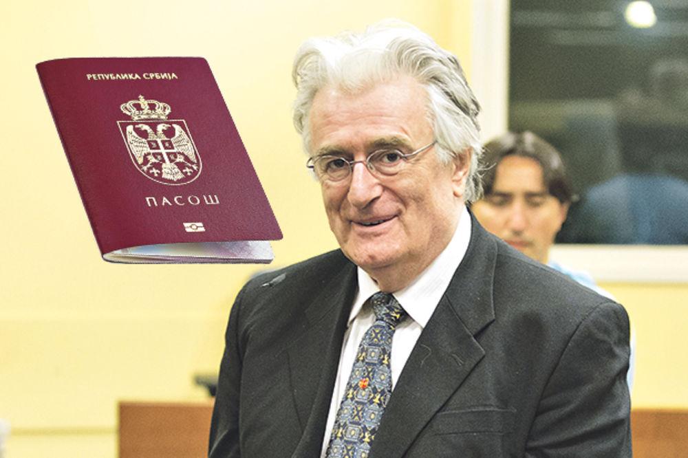 ZVANIČAN ZAHTEV: Radovan Karadžić traži pasoš Srbije!