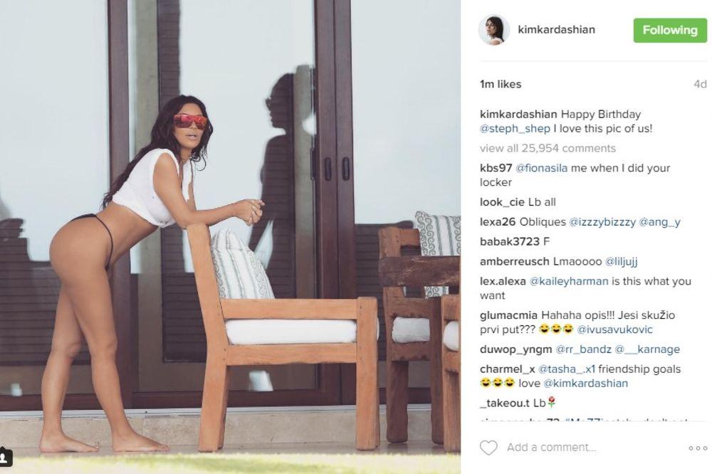 OVA ŽENA JE LUDA: Kim Kardašijan za 4 dana OPALILA 6.000 selfija!