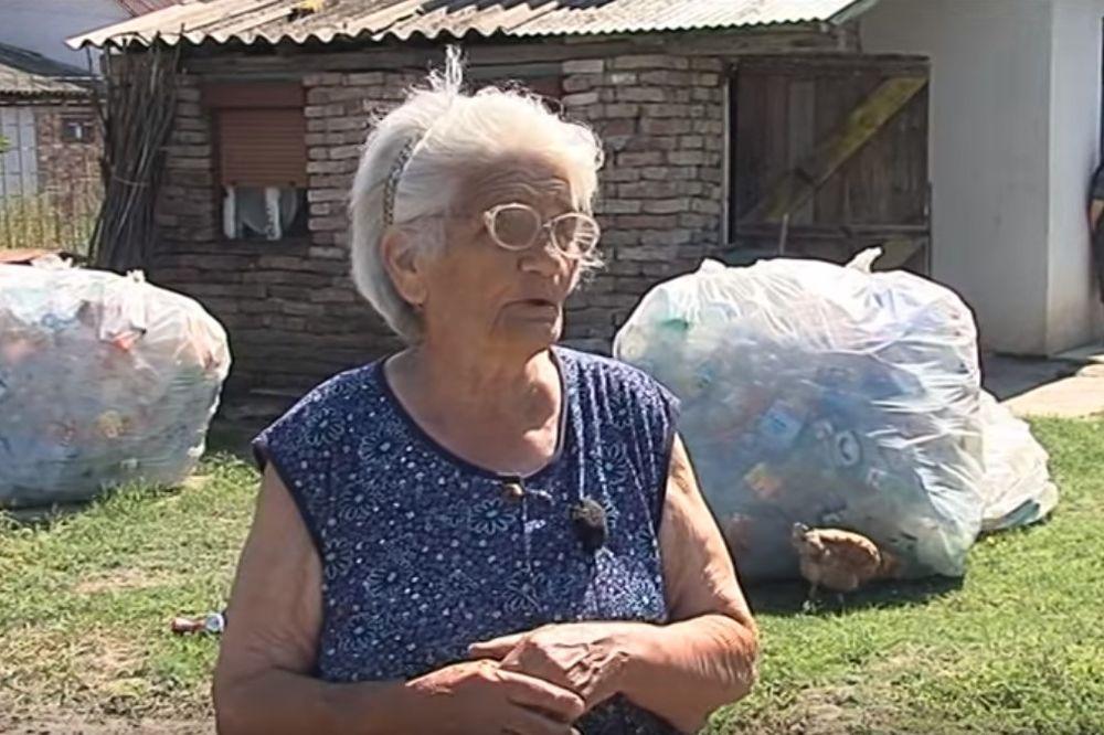 (VIDEO) BAKA ANA JE HEROJ! Ima 82 godine i 7.000 socijalne pomoći, ali našla je način kako da zaradi