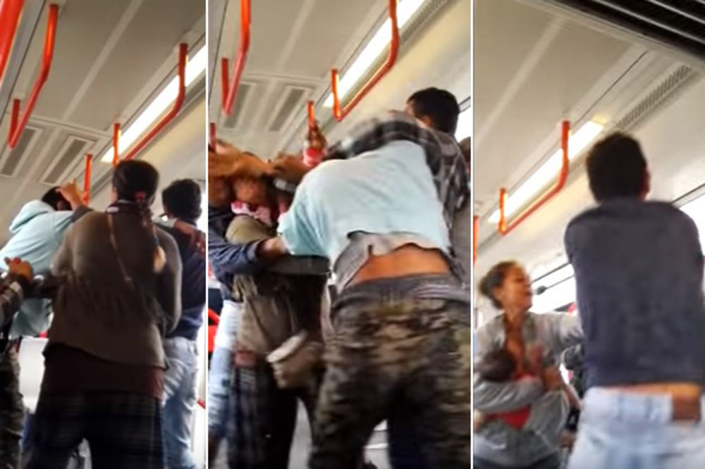 (VIDEO) OPET SE ČULO ZA SRBIJU: Tuča u beogradskom tramvaju osvanula u britanskim medijima