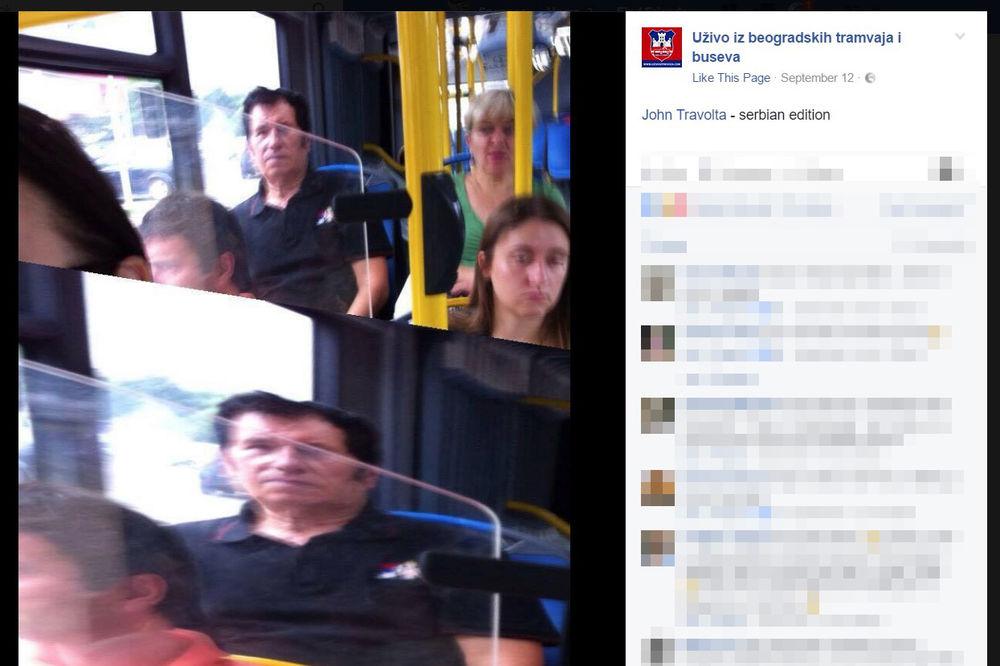 (FOTO) DOBRO PROTRLJAJTE OČI: I Džontra se vozi GSP busom!