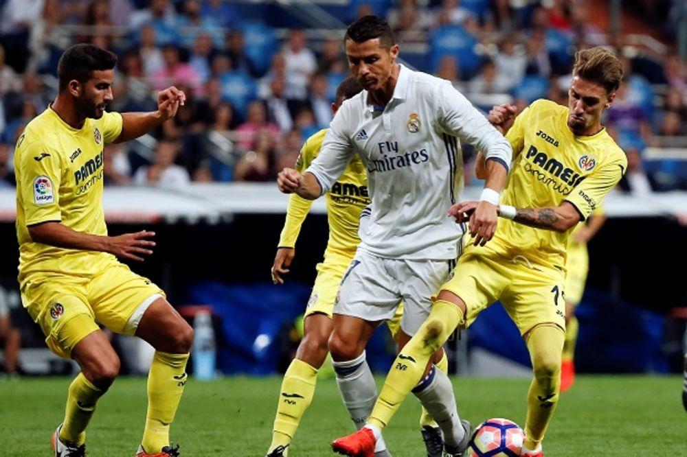 (VIDEO) KRALJ ZAUSTAVLJEN PRED REKORDOM: Viljareal odoleo u Madridu, Real sa Ronaldom uzeo samo bod