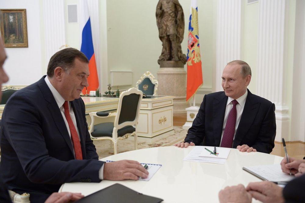 (VIDEO) SASTANAK NA NAJVIŠEM NIVOU: Evo šta je Dodik kazao posle razgovora s Putinom u Moskvi