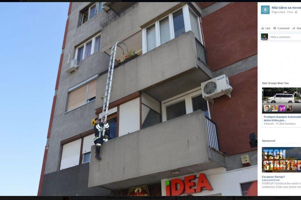 (FOTO) SVAKA ČAST: Pogledajte akciju spasavanja bespomoćne bake (90) u Novom Sadu