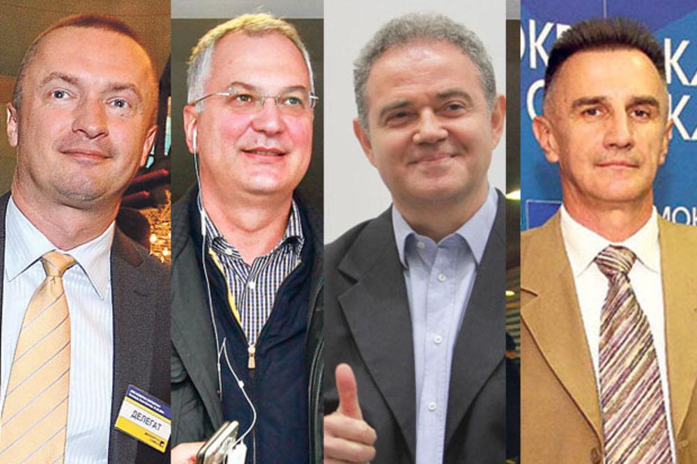 DEMOKRATE DANAS BIRAJU LIDERA: Pajtić, Šutanovac, Lutovac i Antić u trci za predsednika DS