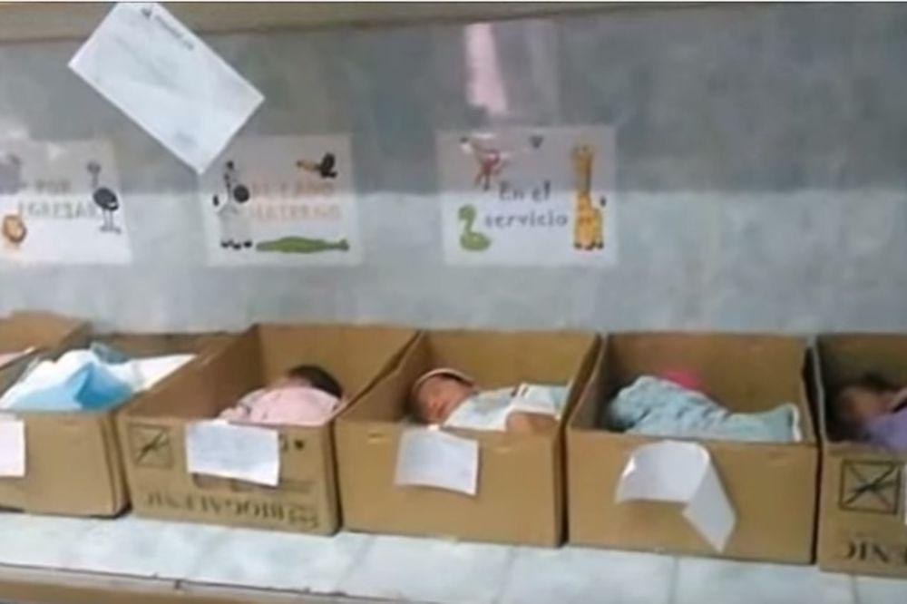 NAJTUŽNIJA SLIKA VENECUELE: Zemlja je toliko siromašna da bebe drže u kutijama umesto inkubatorima