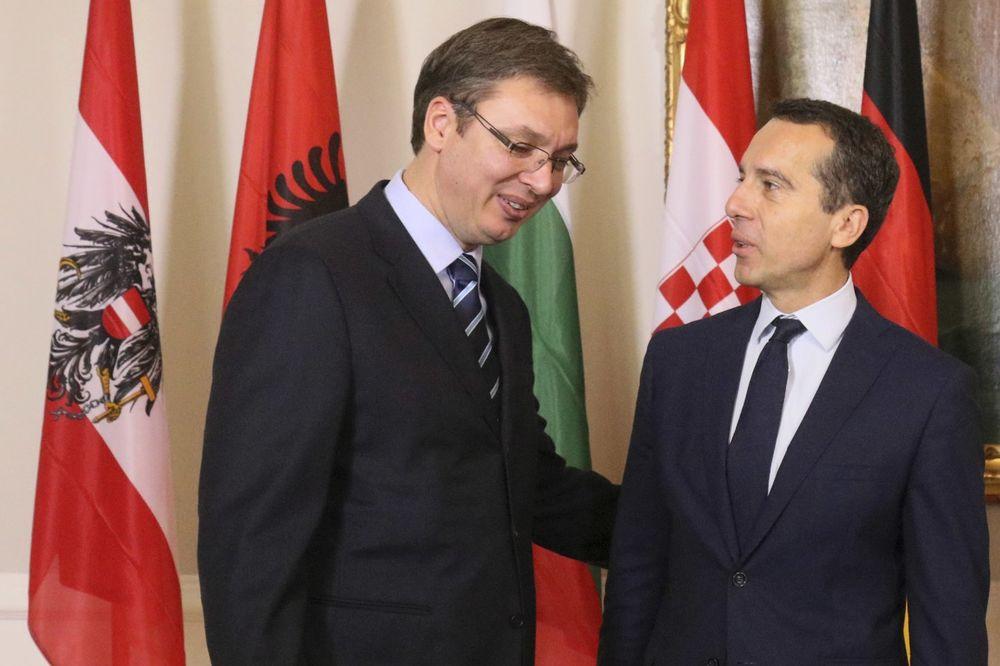 PREMIJER SKRATIO BORAVAK U NJUJORKU: Vučić stigao u Beč na Samit o izbegličkoj krizi