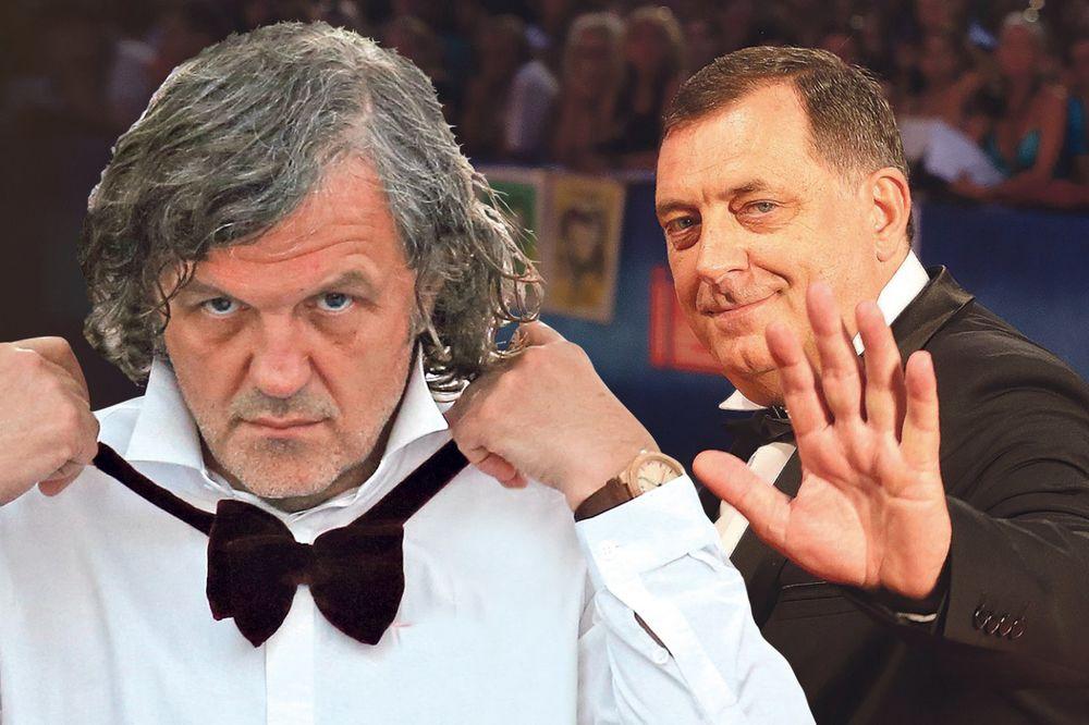 SKANDAL U VENECIJI: Kusturica zbog Dodika ostao bez Zlatnog lava