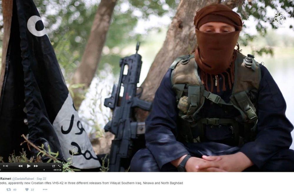 NAJNOVIJE HRVATSKE PUŠKE U RUKAMA ISLAMSKE DRŽAVE: A niko ne zna kako su se tamo našle
