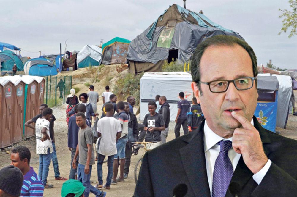 Oland najavio zatvaranje izbegličkog kampa u Kaleu