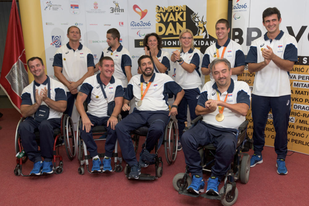 USPEH SRPSKIH PARAOLIMPIJACA: Atletičari doneli tri medalje iz Rija