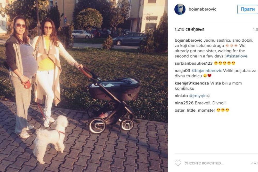 (FOTO) ŠETNJA PORED SAVE: Bojana ćerku Leonu upoznaje sa Beogradom!