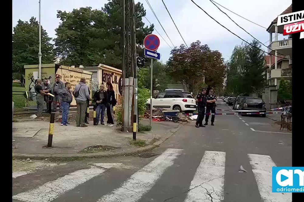 (KURIR TV) TRAGEDIJA NA VRAČARU: Strujni udar ubio radnika dok je bušio beton