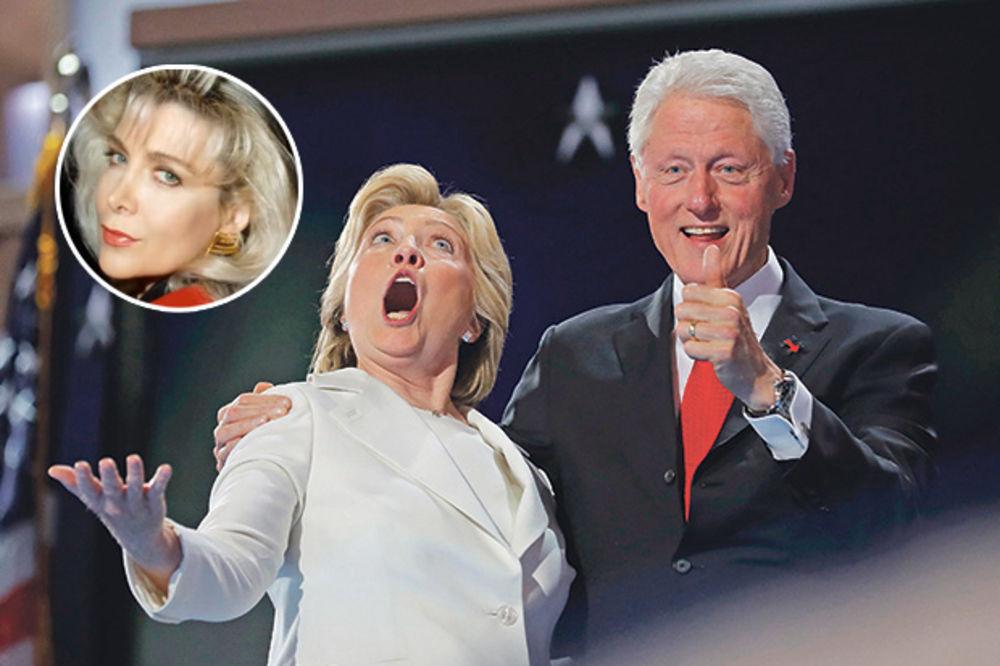 (VIDEO) TRAMP UZVRATIO, I TO GALA! Na debatu s Hilari pozvao bivšu ljubavnicu Bila Klintona