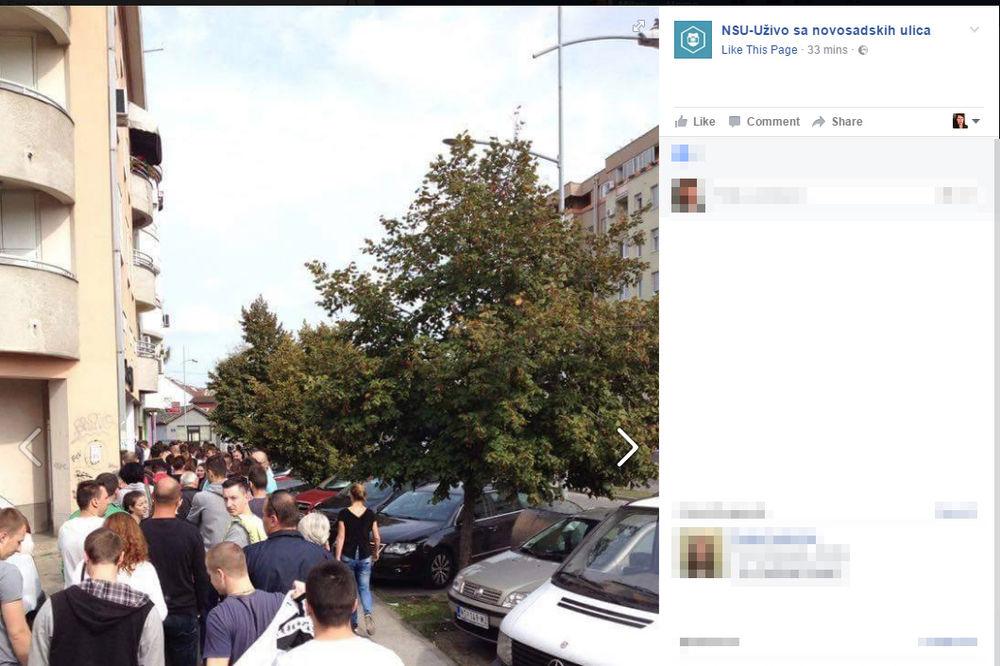 PONESTAJE GLASAČKIH LISTIĆA: U Novom Sadu redovi za glasanje o Danu RS dugi i do 50 metara