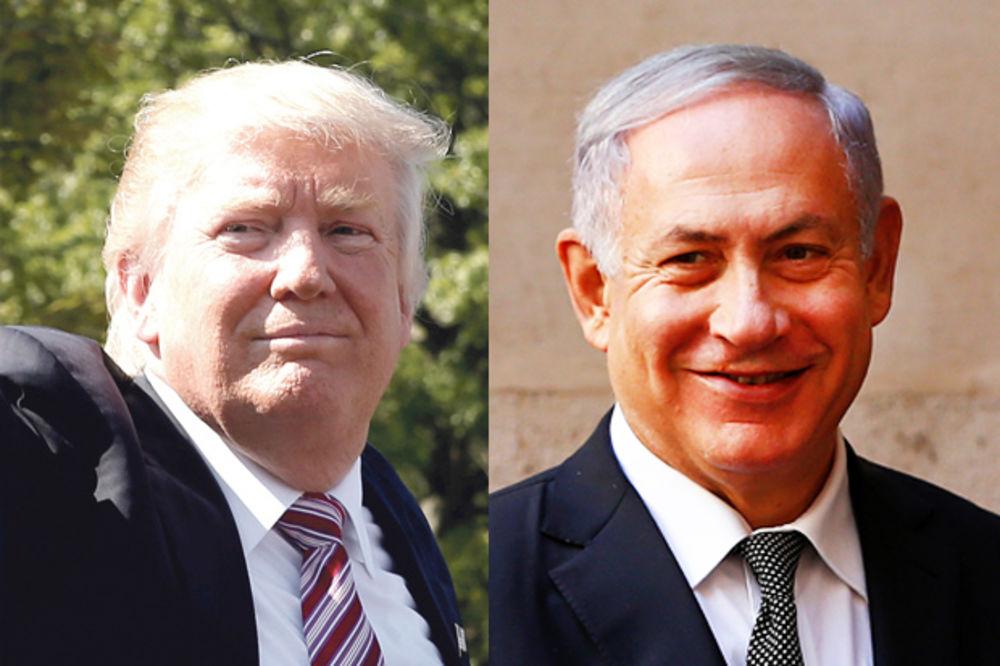 (VIDEO) TRAMP BEZ DLAKE NA JEZIKU: Jerusalim je nepodeljena prestonica Izraela
