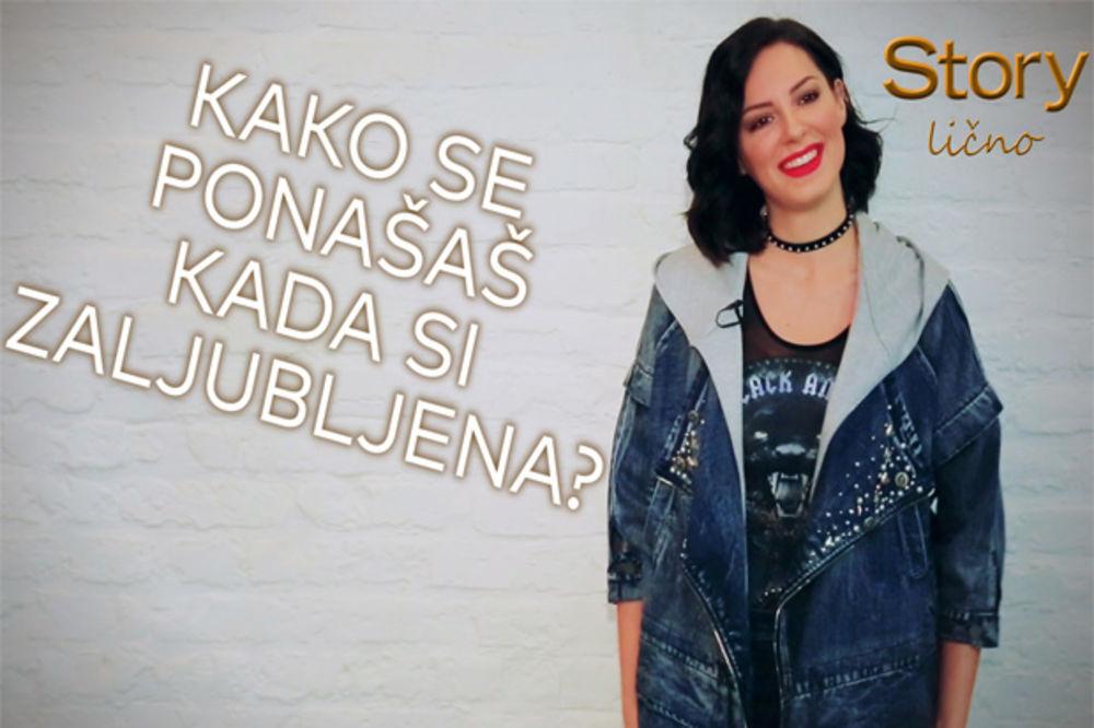 (VIDEO) Sara Jovanović: Kako se ponašam kad sam zaljubljena
