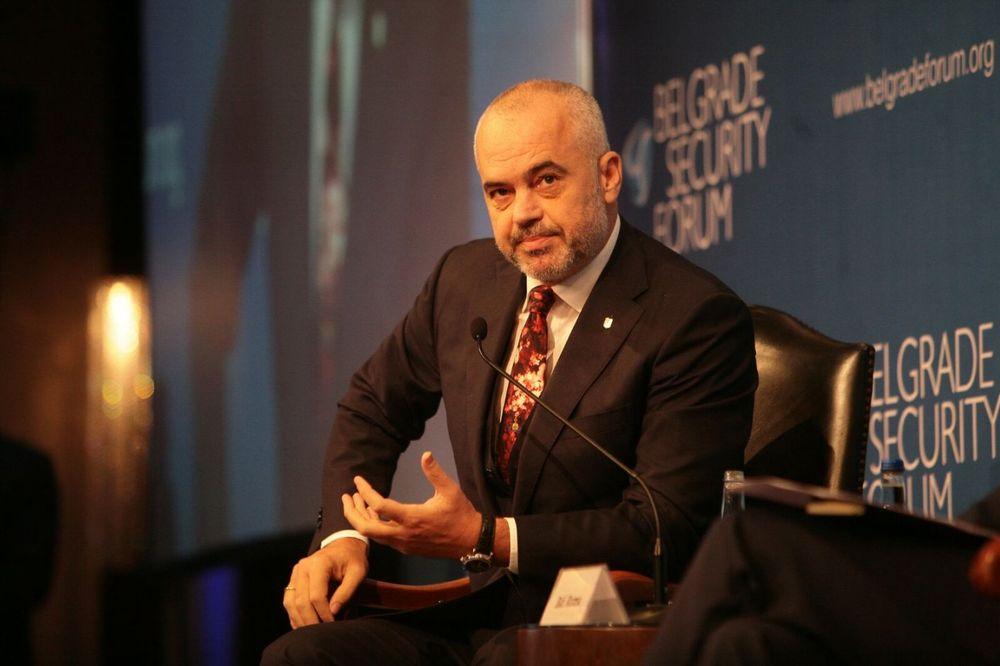 EDI RAMA: Velika Albanija pripada prošlosti!