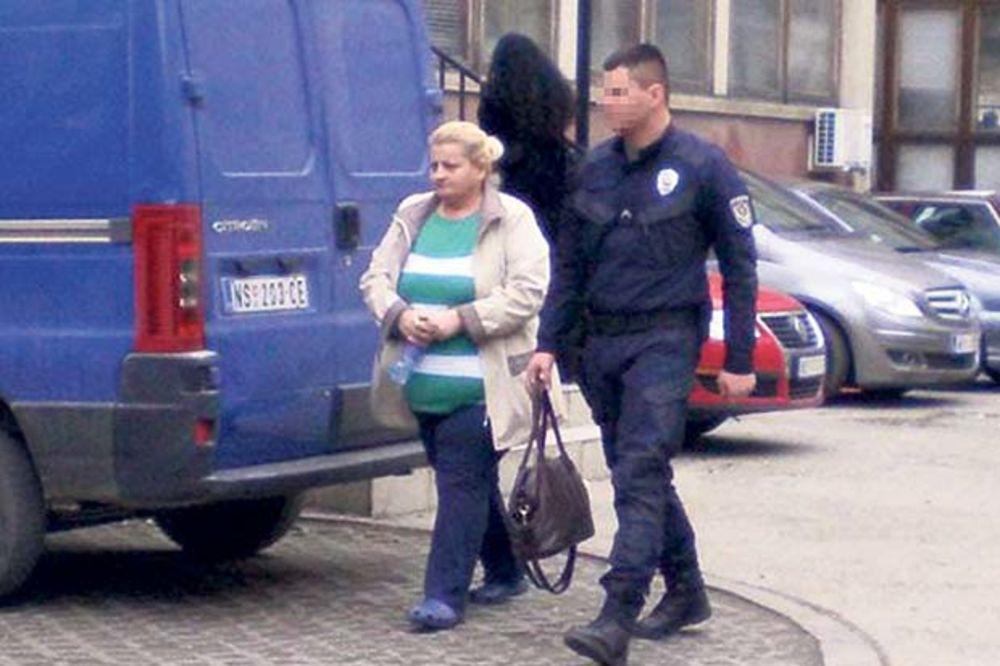 Ubica... Biljana Jeftić juče ispred suda