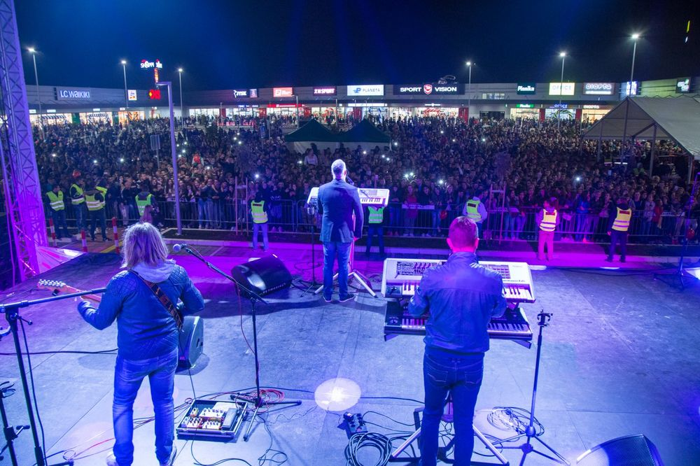 Koncert Saše Matića na otvaranju Shoppi Reatil Parka