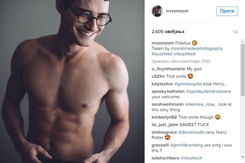 (FOTO) HARI POTER KAKVOG SMO SANJALI: Go i potpuno seksi!