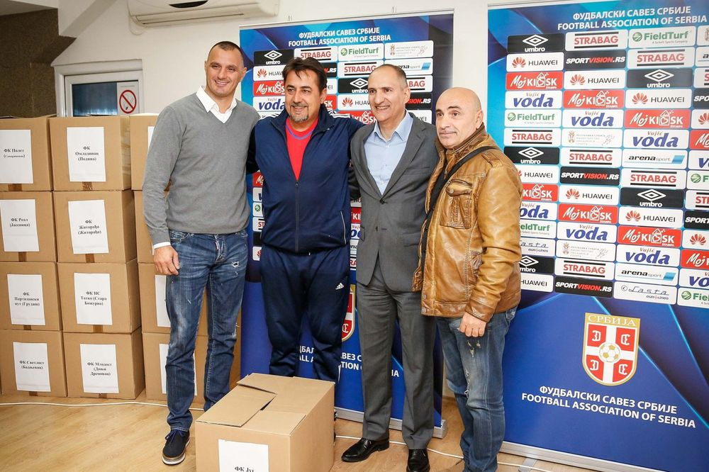 ISPUNJENJE OBEĆANJA: FSS nastavio akciju doniranja sportske opreme