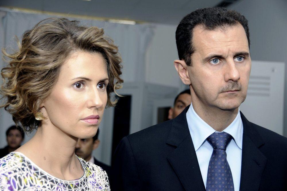 Asma i Bašar, Foto AP