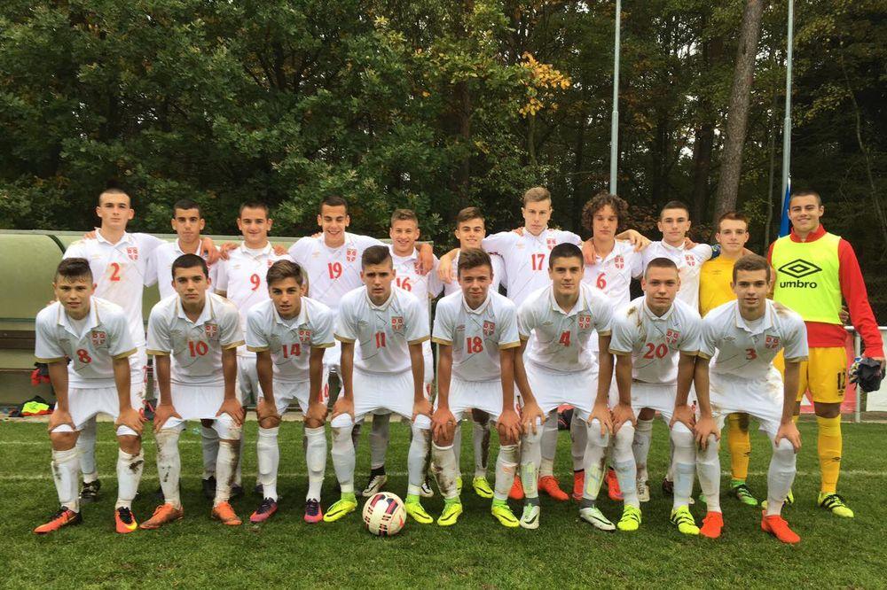 SLAVLJE ORLIĆA: Fudbalska U-16 selekcija pobedila Češku u prijateljskoj utakmici