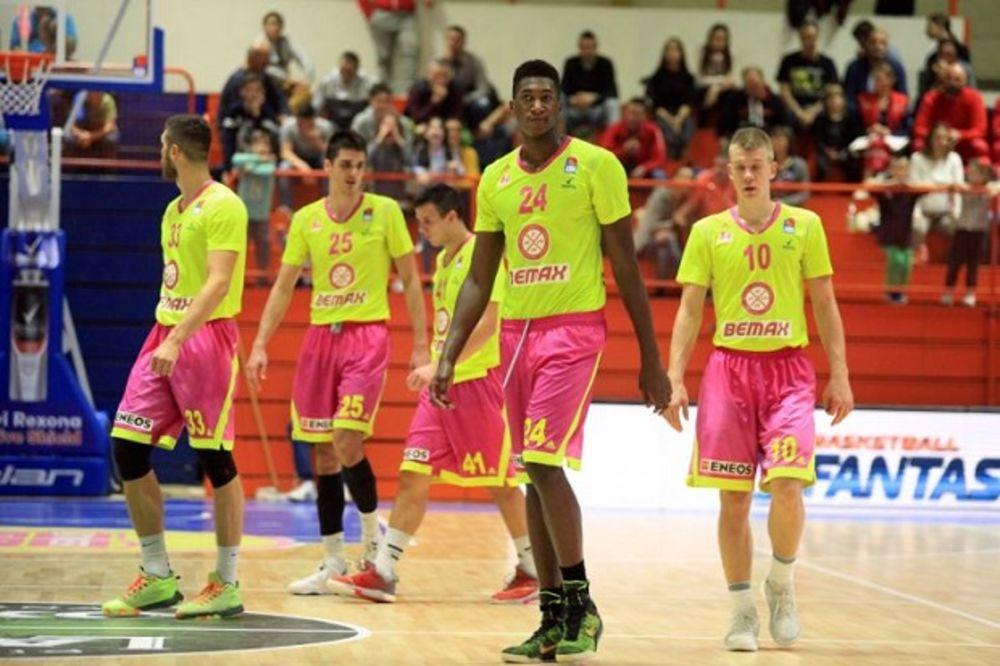 NEUSPEŠAN EVROPSKI DEBI: Mega Leks lako izgubio od Avelina na premijeri u FIBA Ligi šampiona