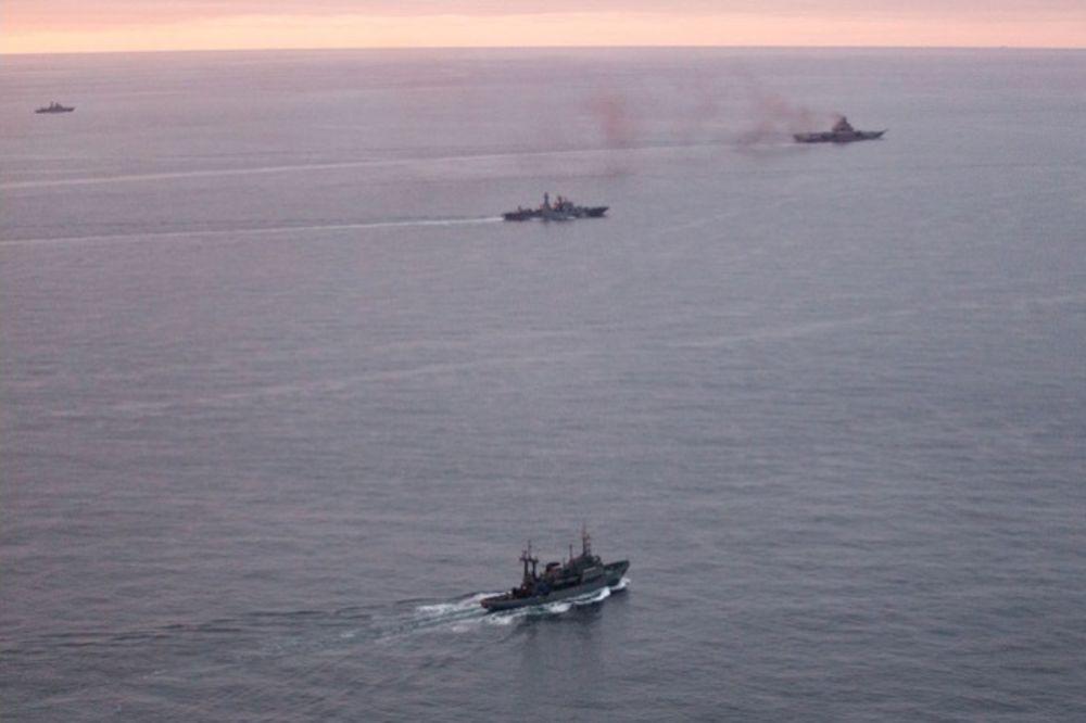 ALARM U BRITANIJI: Ruski ratni brodovi plove ka Sredozemlju, strahuju da će proći kroz Lamanš!