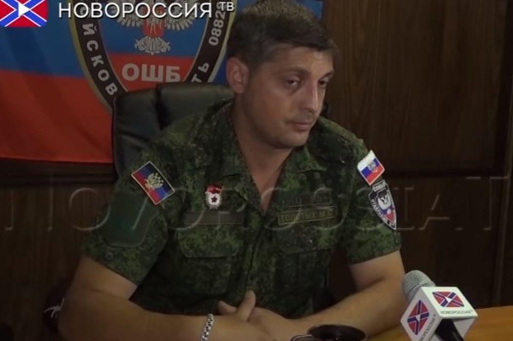Givi: Osvetiću Motorolu, a ubice će platiti visoku cenu (Foto: Printscreen YouTube/TV Nororusija)