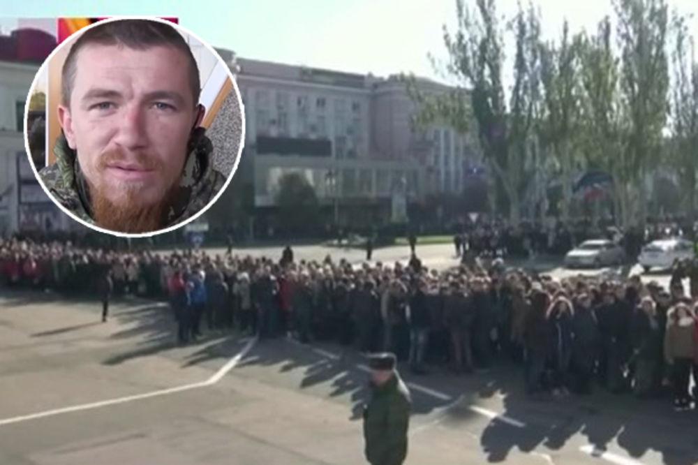 (VIDEO) 10.000 LJUDI DOŠLO DA GA ISPRATI: U Donjecku sahranjen donbaski heroj Motorola