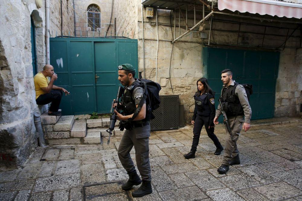 UBIJENA PALESTINKA NAPADAČICA: Nožem krenula na izraelsku policijsku patrolu