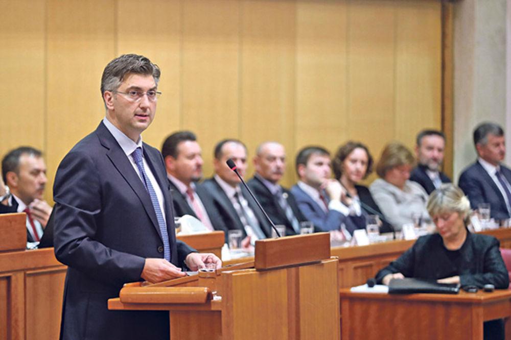 HRVATSKA DOBILA NOVU VLADU: Posle 20 sati rasprave, Sabor izglasao kabinet premijera Plenkovića!