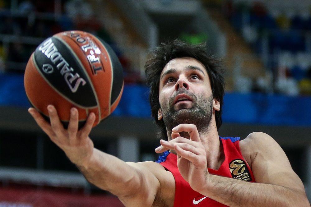 CSKA DO POBEDE U POSLEDNJOJ SEKUNDI: Teodosić opet brilijantan, Bambergu dao 31 poen